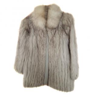 Saga Furs Arctic Fox Fur Jacket