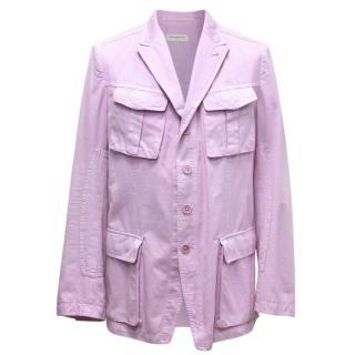 Dries Van Noten Purple Blazer