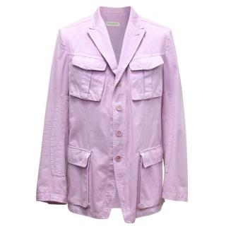 Dries Van Noten Purple Blazer