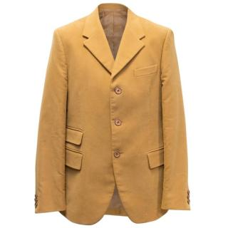 Prada Tan Cotton Jacket