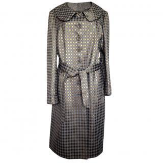 Moschino Cheap and Chic metalic Lightweight Coat
