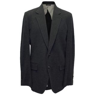 Dolce and Gabbana Charcoal Relaxed Blazer