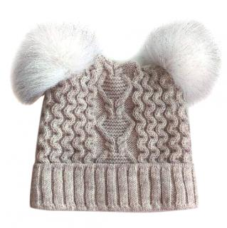 Russian Fur Double Pom Pom Hat
