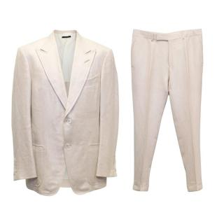 Tom Ford Beige Two Piece Suit