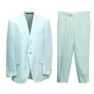 Richard James Two Piece Turquoise Suit