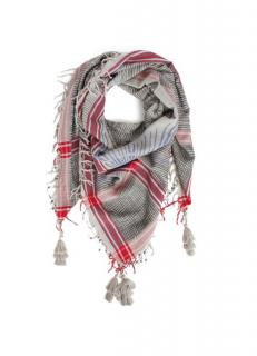 Zadig and Voltaire Keffieh Rosace scarf