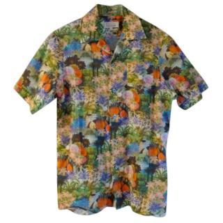 Paul And Joe Men's Silky floral shirt