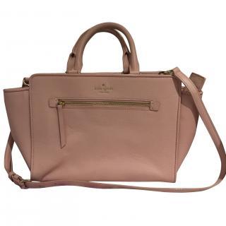 Kate Spade bag in pale/dusky pink, softest leather
