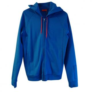 Hugo Boss(red label) blue jacket with hoodie