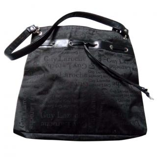 Guy Laroche Black Logo Bag