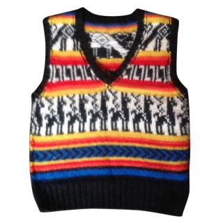 Joseph Aztec Multicoloured Sweater Vest