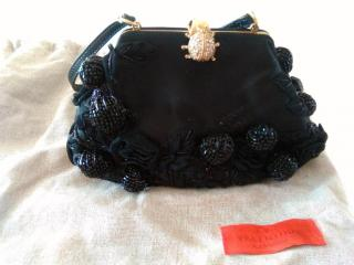 VALENTINO Baguette Bag in silk