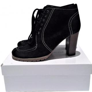 See By Chloe black ankle boots