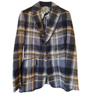 VIVIEN WESTWOOD Men's tartan blazer