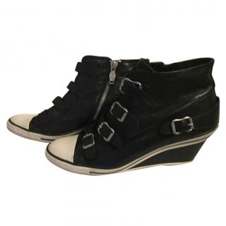 Ash Wedge Heeled Trainers