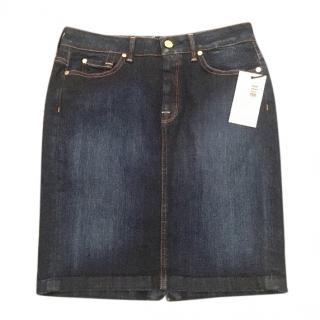 7 For All Mankind Denim Skirt