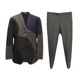Bottega Veneta Patched Suit