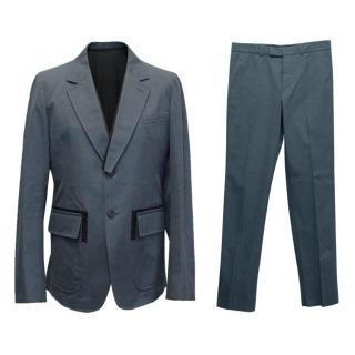Alexander McQueen Navy Suit