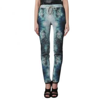 Markus Lupfer Tropical Fishprint Trousers