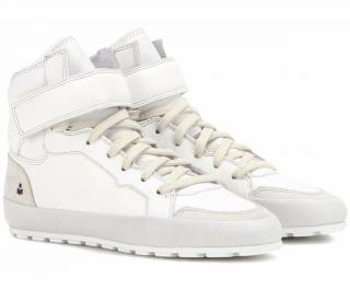 Isabel Marant Etoile Bessy High-Top White Trainers