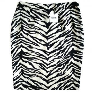 Moschino Zebra Skirt