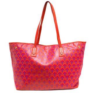 Liberty Marlborough Red Tote Bag