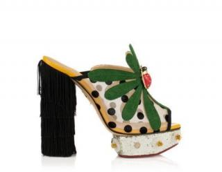 Charlotte Olympia Not so Secret Garden heels