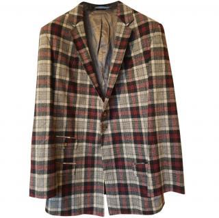 VIVIENNE WESTWOOD Men's Tartan Blazer