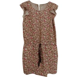 Maison Scotch Tropical Drift Patterned dress