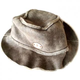 CELINE Shearling Hat
