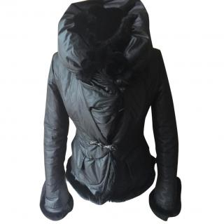 Violanti Jacket with chinchilla fur
