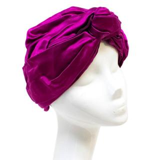 Jennifer Behr Purple Turban