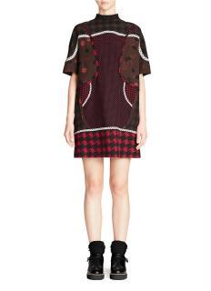 Coach Tunic Dress Silk Multi Colour