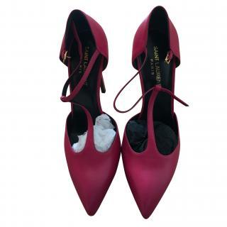 Saint Laurent T-bar high heel shoes