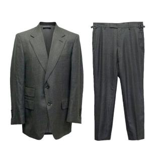 Tom Ford Grey Light Textured Suit