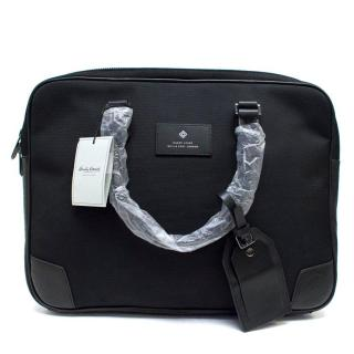 Hardy Amies Black Briefcase
