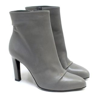 Roger Vivier Grey Ankle Boots