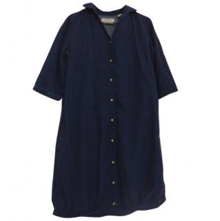 Maison Scotch Dark Blue Shirt Dress