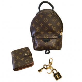 Louis Vuitton Palm Spring bag, purse & bag charm