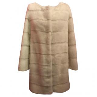 Cher fur mink coat