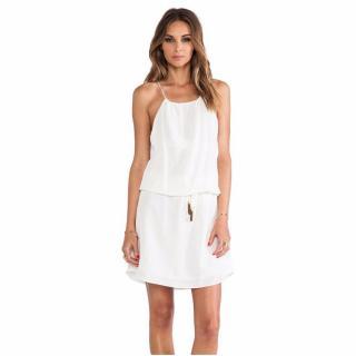 Vix Gilda pure white short dress