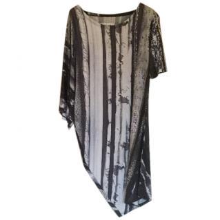 Maison Martin Margiela stretch asymmetric dress or tunic