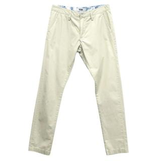 Acne Beige Chino Trousers