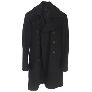 Fillipa K Black Military Coat