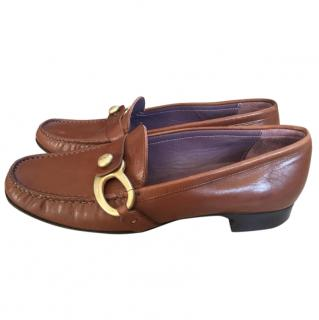 Bally Tan Loafers