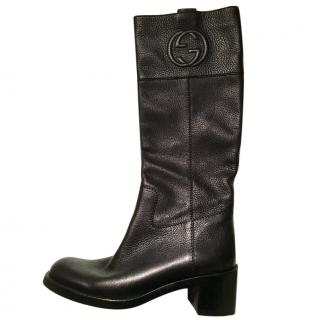 Gucci Riding Boots (Interlocking G)
