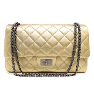Chanel Gold Flap Bag