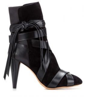 Isabel Marant black 'Nola' boots