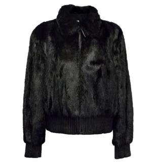 Yves Salomon Mink Fur Jacket