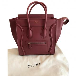 Celine luggage micro